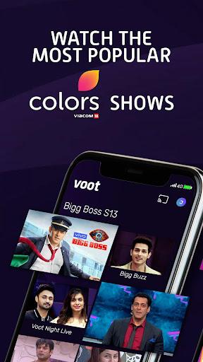 Voot - Watch Colors, MTV Shows, Live News & more screenshot 2
