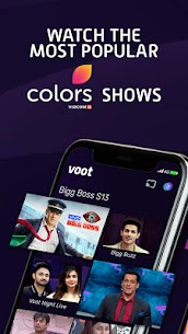 Voot – Watch Colors, MTV Shows, Live News & more Mod 3.1.6 Apk [Unlocked] 2