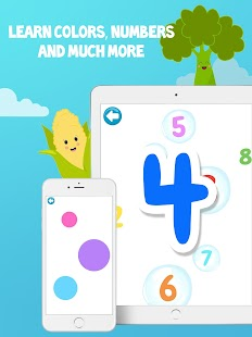 Baby & Toddler Learning Games  - CognitoBaby Screenshot