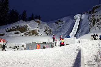 Photo: Ski flying Vikersund HS225 - The inrun and the jump