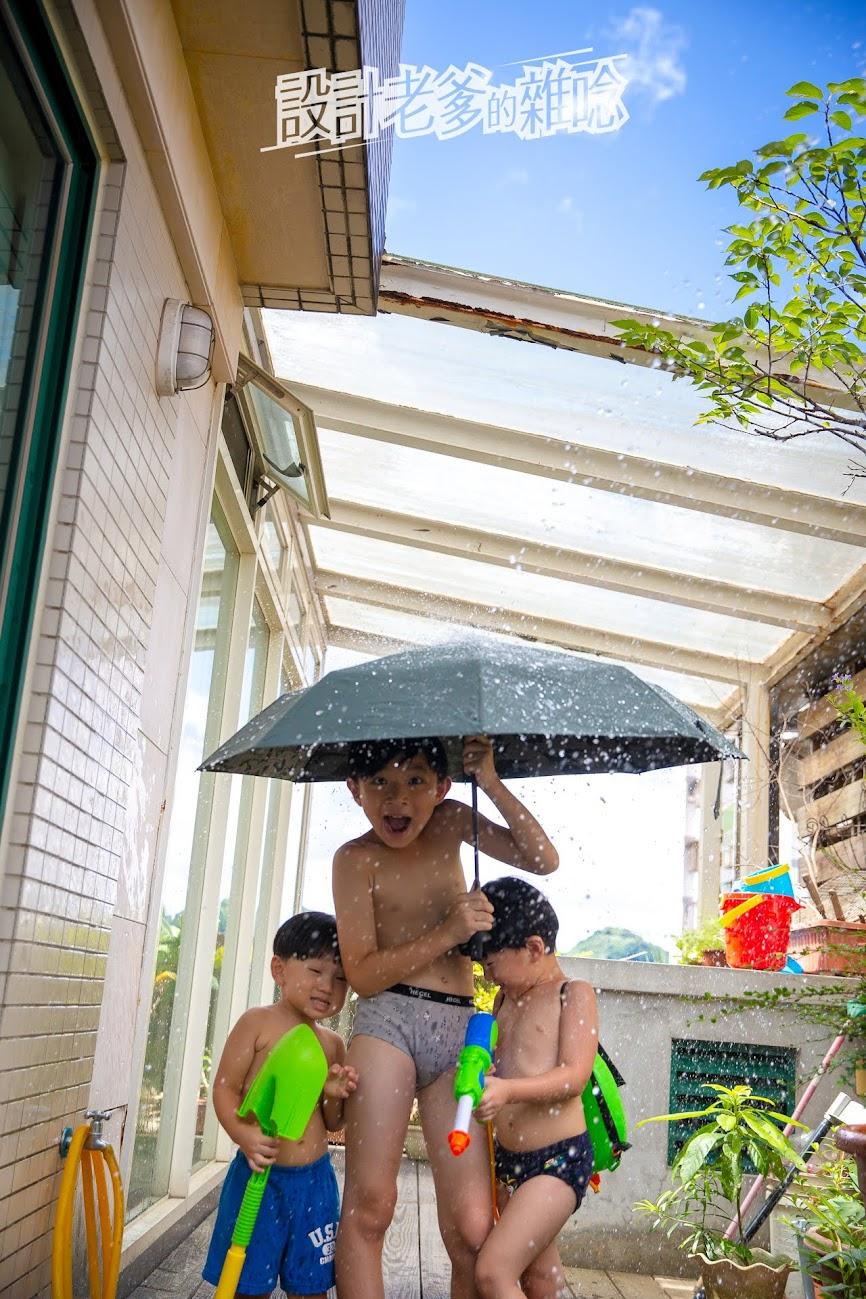 Make Shine ClipGo 2.0 可立扣輕量無縫自動傘...降溫防曬、撥水性超好的隨身傘!