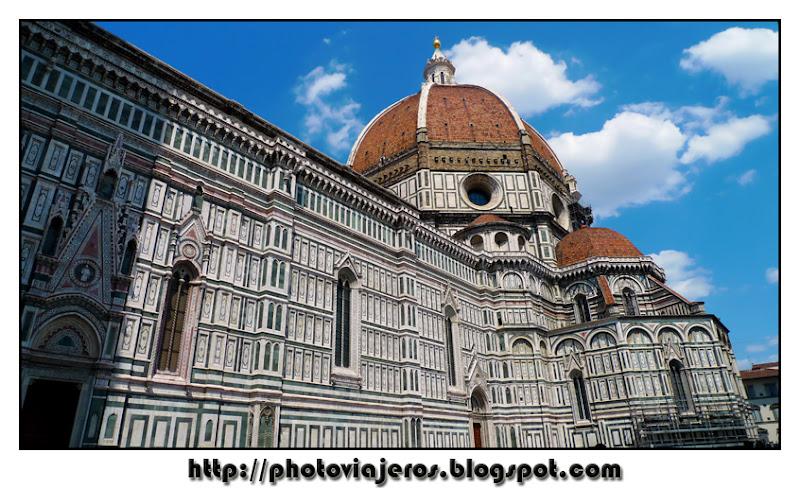 Duomo Batisterio campanile Florencia