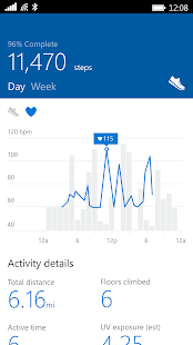 Microsoft Band- screenshot thumbnail