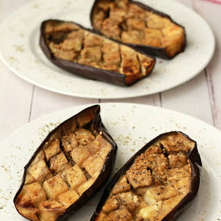 Rosemary and Olive Oil Roasted Eggplant.