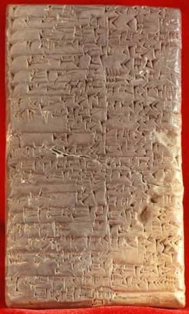 tabliczka sumeryjska