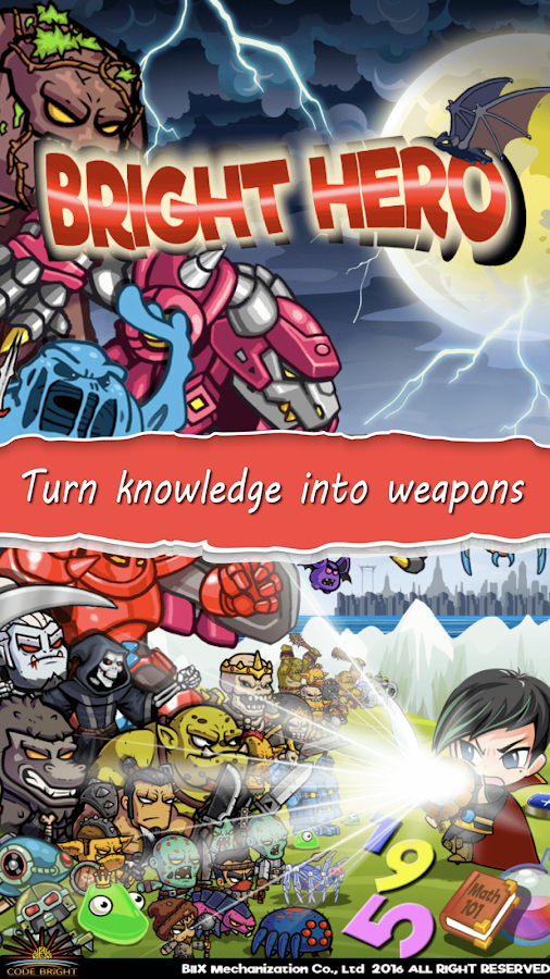 Bright Hero- screenshot