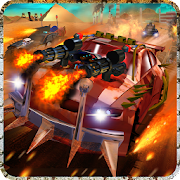 Buggy Car War Desert Survival