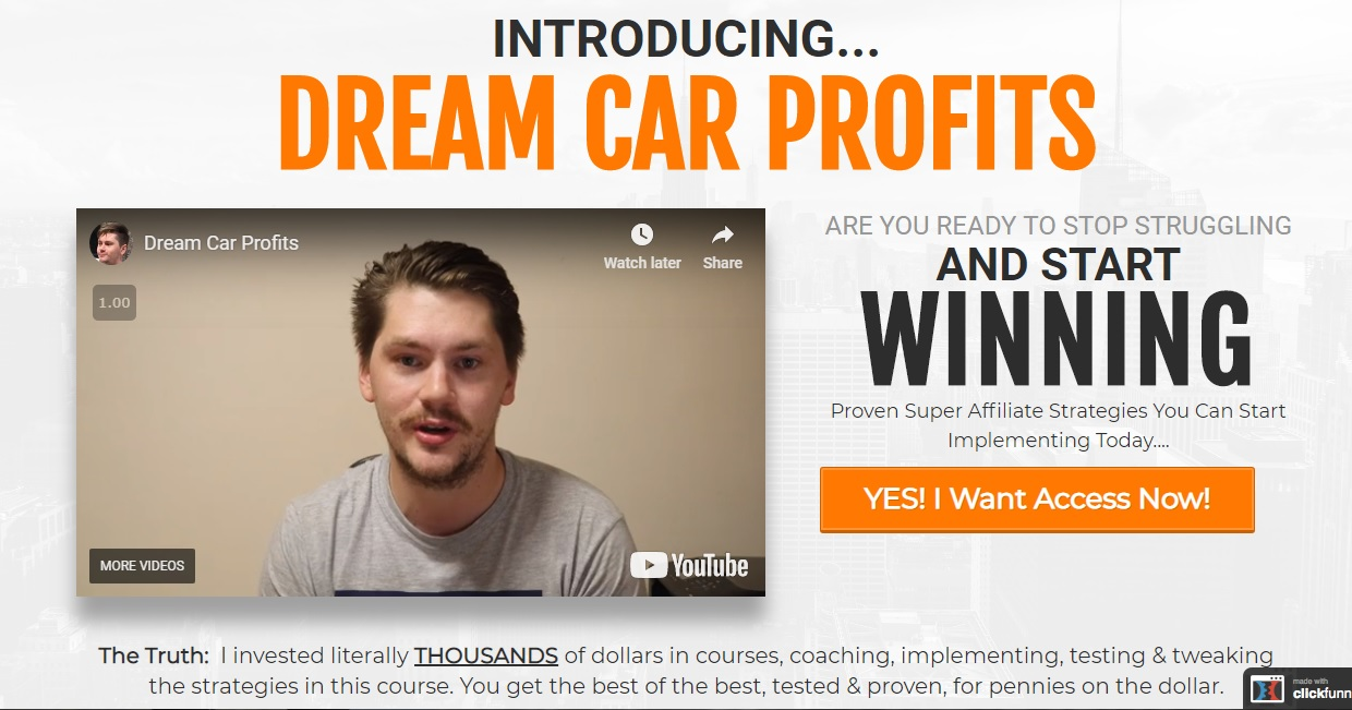 Dream Car Profits