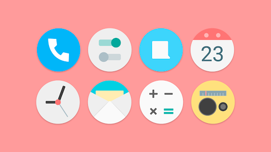 Flat Pie – Icon Pack 1.1 Patched 5