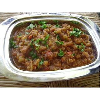 Eggplant Curry - Baingan Bhartha