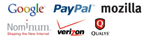 SStopBadware Parteners : Google, Paypal, Mozilla, Nominum, Verizon, and Qualys