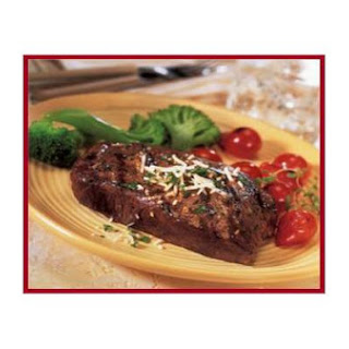 Flat Iron Steak Al Forno