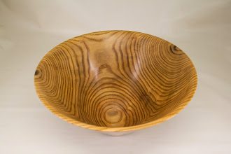 "Photo: Phil Brown 11"" x 3 1/2"" bowl [sassafras]"