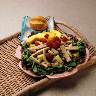 Fruited Pork and Wild Rice Salad.