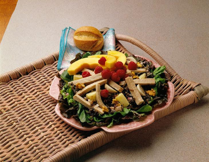 Fruited Pork and Wild Rice Salad Recipe