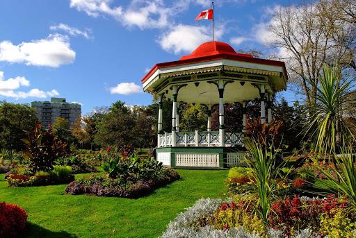 halifax-public-gardens.jpg -  A gazebo in the Halifax Public Gardens, formally established in 1867.