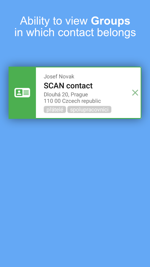CONTACT details- screenshot