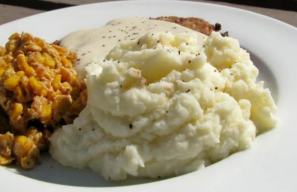 Texas Garlic Mashed Potatoes Recipe