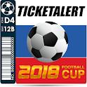 TicketAlert 2018 Football Cup icon