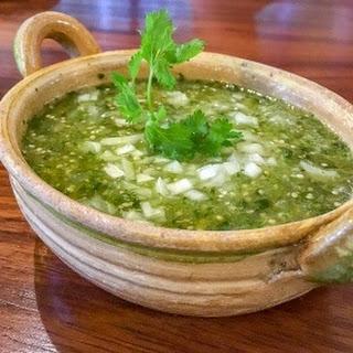 The Mexykan Salsa Verde (Green Tomatillo Salsa)