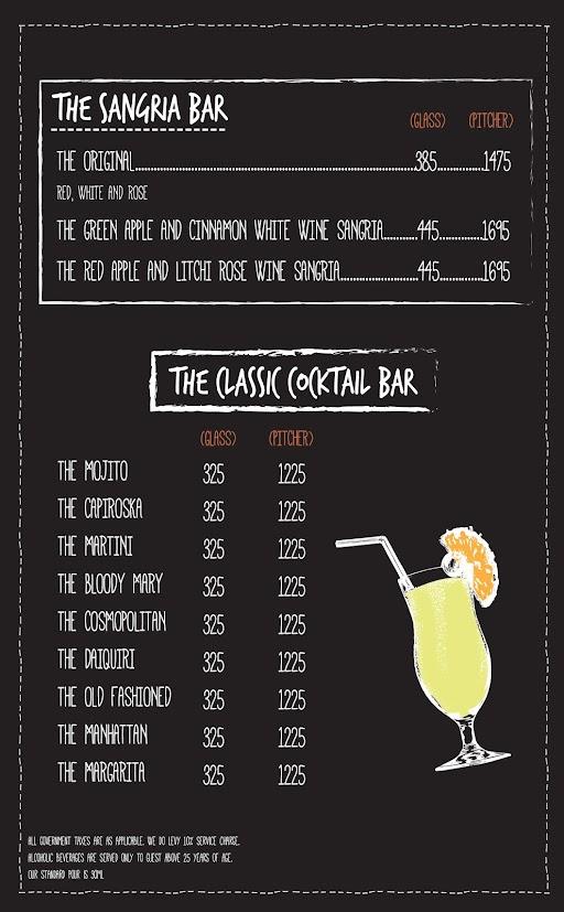 Open House menu 4