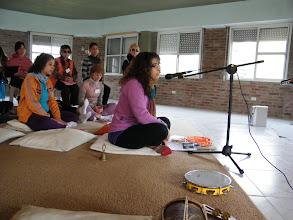 Photo: Nos armonizamos con el OMKAR y el Gayatri Mantra