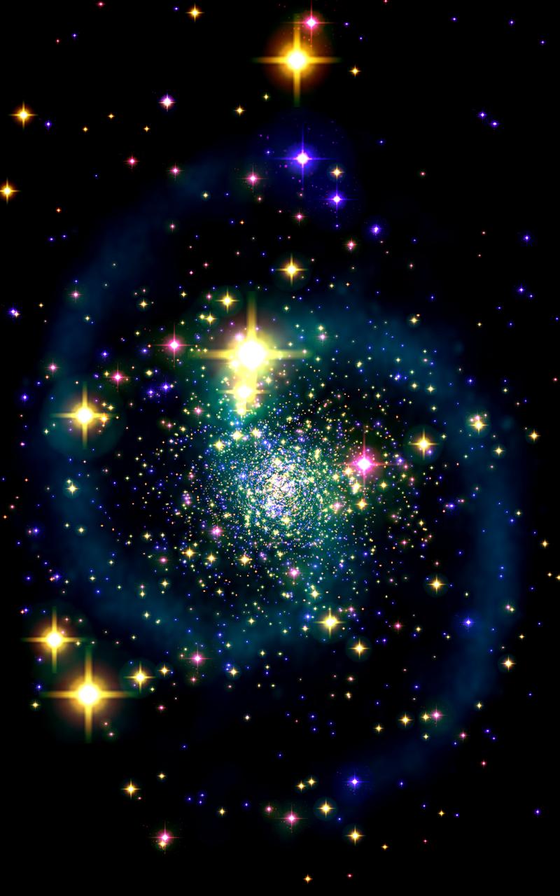 Galaxy Journey Music Visualizer Pro Screenshot 1