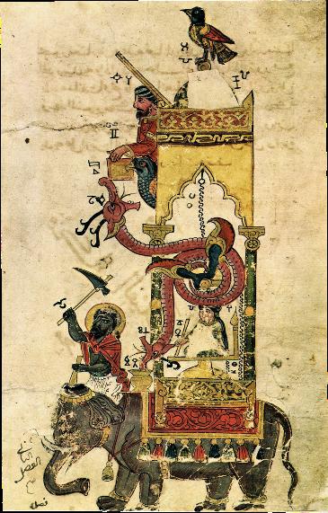 Elephant clock - Wikipedia