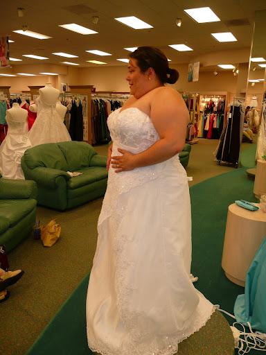 Gigantic Plus Size Wedding Dress