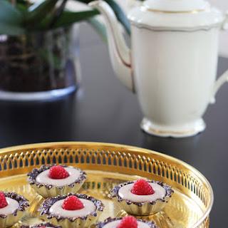 Mini Toffee cheesecakes.