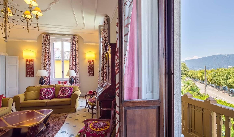 Villa avec jardin et terrasse Porto Valtravaglia