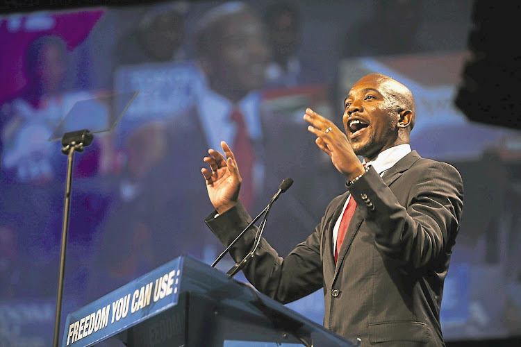 "DA leader Mmusi Maimane says corruption was so bad that ""tsotsis"" such as Deputy President David Mabuza and ANC secretary-general Ace Magashule were promoted instead of being punished."