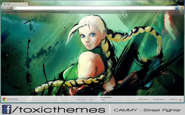 Cammy - Street Fighter theme by toxic