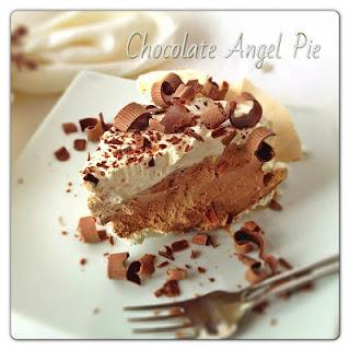 Chocolate Angel Pie