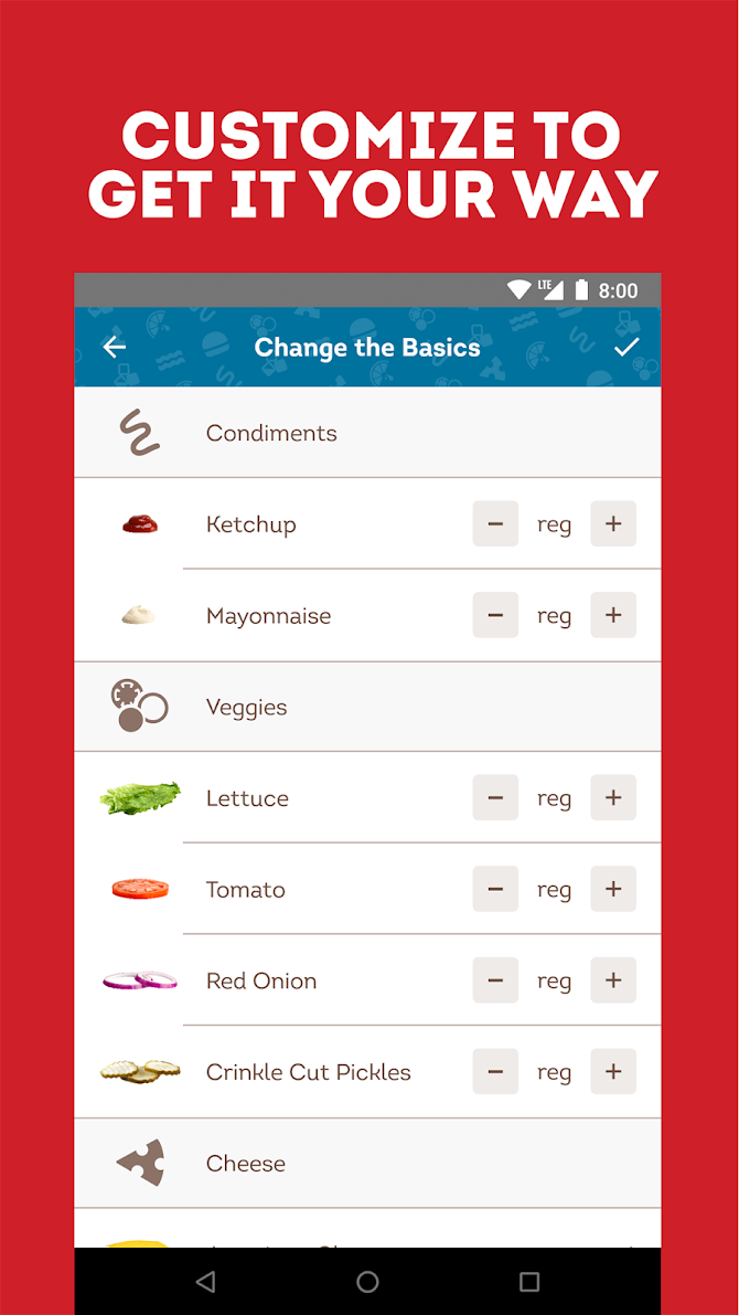 Wendy's – Food and Offers Android 2