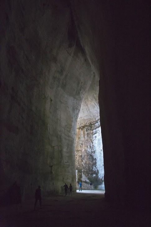 Syrakuzy, Obszar Archeologiczny Neapolis, Ucho Dionizjusza