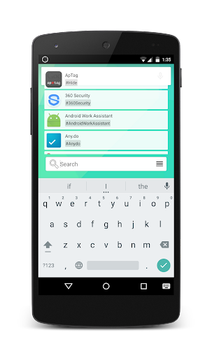 ApTag - An App Tag Drawer