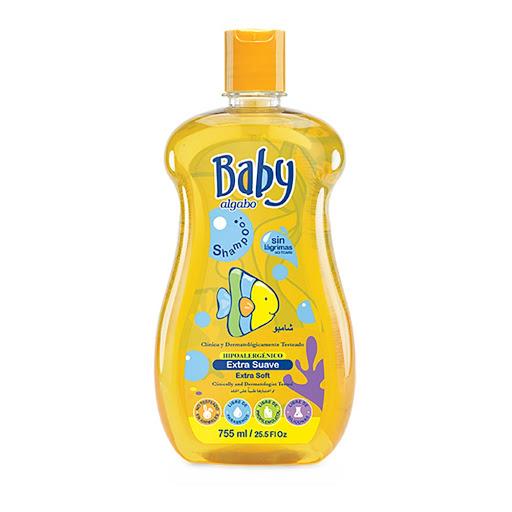 champu algabo baby extra suave 755ml
