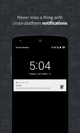 Screenshot 4 for Discord's Android app'