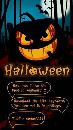 Halloween Fonts - Free & Cool 1.0 screenshot 142035