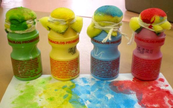 Atividades de Artes Para Educação Infantil com Esponja