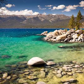 Lake Tahoe by Venkatauday Bommisetty - Landscapes Travel ( soth lake tahoe, travel )