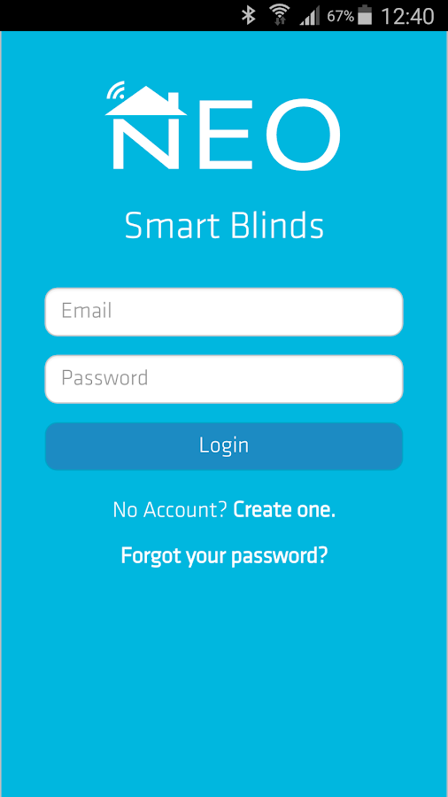 Neo Smart Blinds- screenshot