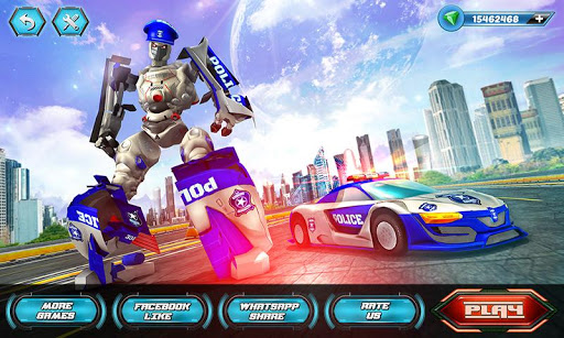 US Police Robot Car Revenge 1.3 Screenshots 1