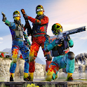 Paintball Shooting Battlelands- Survival Games icon