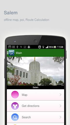 Salem Map offline