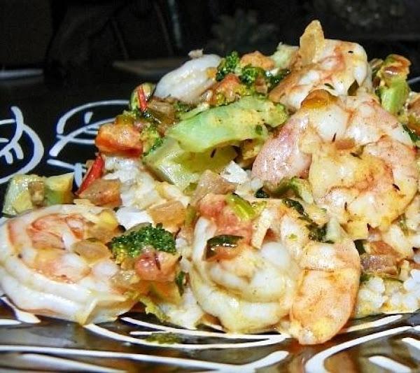Spicy Shrimp In Coconut Sauce Recipe