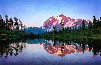 Photo: Mt. Baker