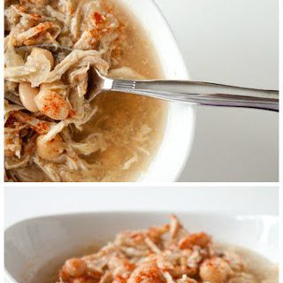 Easy Mexican Chicken Soup in the Slow Cooker