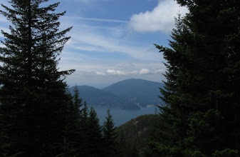 Photo: Another view of Howe sound and islands